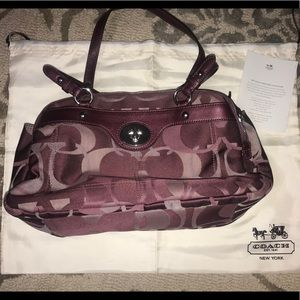 Authentic Coach Purse with Dust Bag